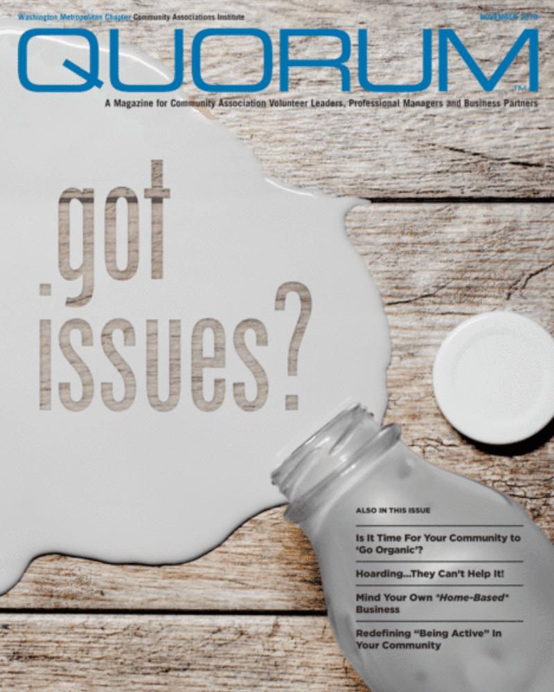 commercial landscaper in quorum magazine