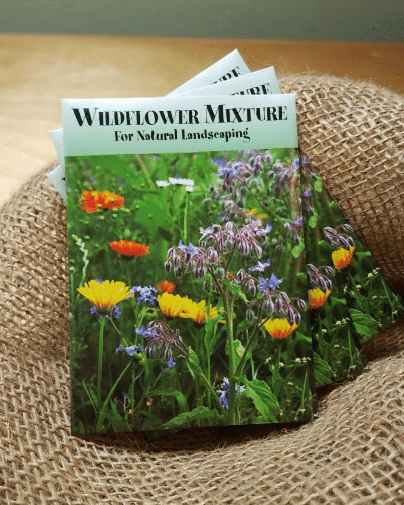 organic lawn care wildflower mix