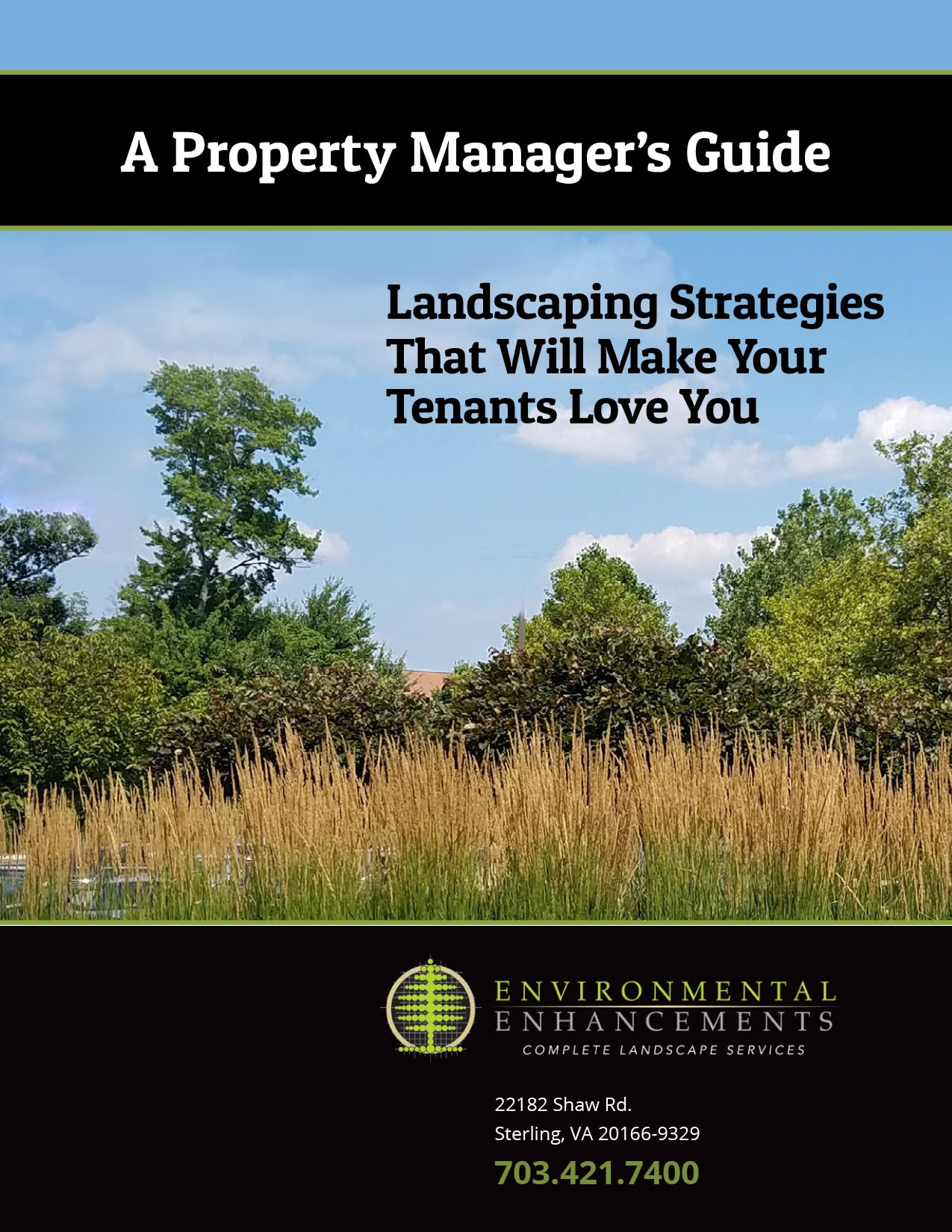 landscape gardener guide for property managers virginia