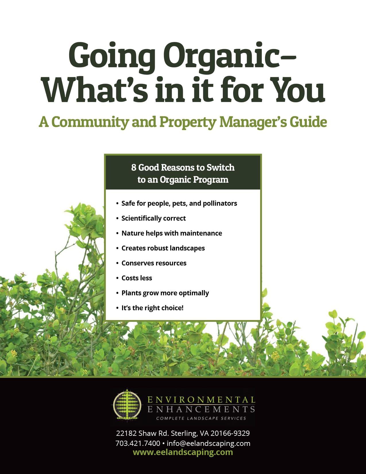 landscape gardener organic lawn service info